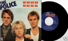 "THE POLICE De Do Do Do De Da Da Da 1980 FRENCH RARE 7"" 45 VINYL STING AMS 9110 