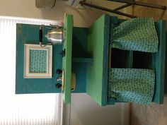 End table turned kids kitchen