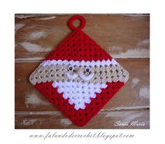 Surprisingly Simple Christmas Crochet By Craft Gossip Crochet Christmas Decorations, Crochet Ornaments, Christmas Crochet Patterns, Holiday Crochet, Crochet Crafts, Yarn Crafts, Crochet Projects, Crochet Santa, Free Crochet