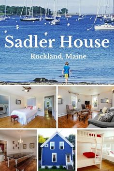 Looking for vacation home rentals in mid coast Maine? Sadler House is a charming, historic family vacation home available year-round in beautiful Rockland. New England States, New England Homes, The Places Youll Go, Places To Go, Maine Vacation Rentals, Seaside Holidays, Secure Site, Dream Vacations