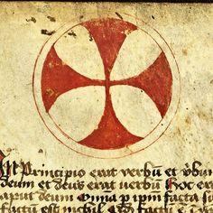"""""""Happy #manuscriptmonday! Happy Birthday, Leipzig University! Founded on 2 December 1409. In principio erat verbum et verbum erat apud Deum et Deus erat…"""""""