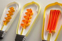"""BRIGHT IDEAS, detail. 3/8"""" quilling paper. JUDiTH+ROLFE"""