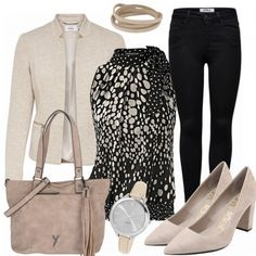 Business Outfits: beige bei FrauenOutfits.de