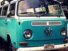 Roadtrip in an old VW van