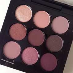 #maccosmetics Burgandy x9 eyeshadow palette. So pretty
