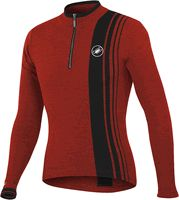 Castelli Costante Wool Cycling Jersey Red - for my guy