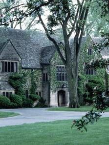 Edsel and Eleanor Ford House in Detroit, Michigan is a Tudor Revival built in 1927. The Grosse Pointe Theater often performs here.