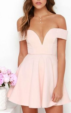 Pink Prom Dresses Elegant short Prom Dress off the shoulder homecoming Evening Dress Party Gown For Teens · meetdresse · Online Store Powered by Storenvy Short Graduation Dresses, Simple Homecoming Dresses, Pink Prom Dresses, Coral Dress, Grad Dresses, Dresses For Teens, Dance Dresses, Simple Dresses, Elegant Dresses