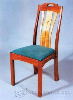 Contemporary Dining Chair Plans - Furniture Plans and Projects - Woodwork, Woodworking, Woodworking Plans, Woodworking Projects Woodworking Furniture, Furniture Plans, Table Furniture, Woodworking Plans, Woodworking Projects, Mackintosh Chair, Pine Chairs, Got Wood, Contemporary Dining Chairs