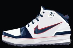 A Decade of LeBron James' Signature Nike Footwear Lebron James Signature, Nike Shoes, Sneakers Nike, Nike Footwear, Shoes Vector, Different Sports, Nike Zoom, Designer Shoes, Sneakers Fashion