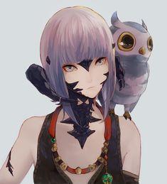She looks exactly like my FFXIV character :-)
