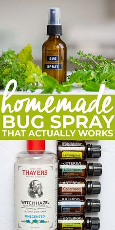 If you live in an area that is full of mosquitoes, ticks, and chiggers, than the Homemade Bug Spray recipe is for you! All natural without all the toxic chemicals and made in under 5 minutes gets you outdoors and having fun without the nuisance of bugs. Essential Oil Bug Spray, Eucalyptus Essential Oil, Essential Oil Uses, Essential Oil Diffuser, Lemon Eucalyptus, Mosquito Repellent Essential Oils, Insect Repellent Spray, Natural Mosquito Repellant, Homemade Bug Spray