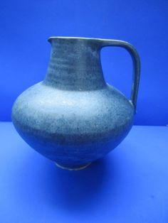 Anton Lang Keramik handgedrehte Krugvase Vase blaue Glasur 21 cm Vase, Anton, Ebay, Home Decor, Decoration Home, Room Decor, Vases, Home Interior Design, Home Decoration
