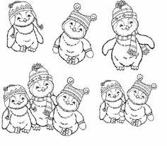 Penguin Coloring Picture Snowman Party Coloring Pages Penguin