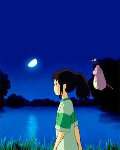 Chihiro   Spirited Away   Miyazaki   Studio Ghibli   (gif)