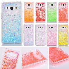 Glitter Hearts Shape Paillette Dynamic Liquid Quicksand Hard Back Case Cover for Samsung Galaxy Grand Prime