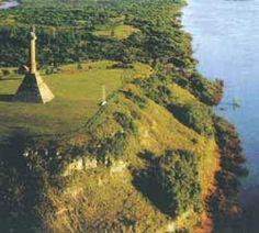 La Meseta de Artigas- orillas del río Uruguay, departamento de Paysandú, Uruguay