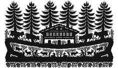 Eine Auswahl der Scherenschnitte von Ueli Hauswirth Papercutting, Folk Art, Paper Art, Motivation, Cut Paper Art, Stencils, Painting Art, Papercraft, Daily Motivation