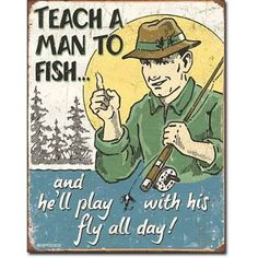 """He Said...  """"I just swallowed a fishing lure"""", he said with baited breath.  http://www.farmersmarketonline.com/ff27.htm"""