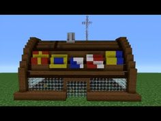 Minecraft How to Build The Krusty Krab Minecraft Shops, Disney Minecraft, Modern Minecraft Houses, Minecraft Castle, Minecraft Plans, Minecraft Survival, Minecraft Tutorial, Minecraft Blueprints, Minecraft Architecture