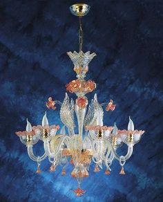Murano Glass Chandelier #648