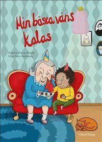 Min bästa väns kalas handlar om vänskapen mellan ett barn och en gammal kvinna. De vackra bilderna ger ett budskap om att hudfärg inte spelar någon roll.