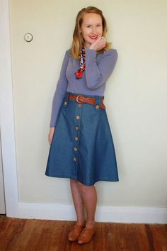 Jennifer Lauren Vintage: Introducing The Cressida Skirt Pattern
