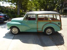 Gerald's 1961 Morris Minor Traveller - AutoShrine Registry