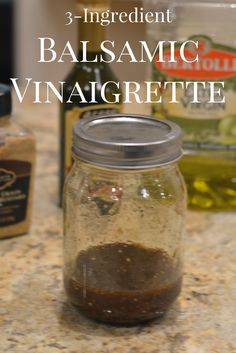Easy Balsamic Vinaig
