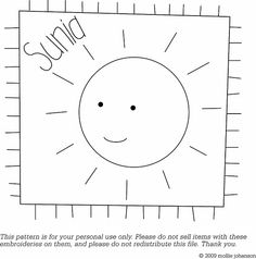 Free Sunia Embroidery Pattern by wildolive, via Flickr