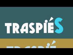 «traspié», no «traspiés», cuando se trata de un solo tropiezo y no de varios.  http://www.youtube.com/watch?v=UuURqOZZoMA