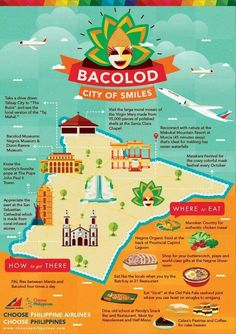 Philippine Travel Tips. The Philippines with its thousands of islands, friendly people, and unique Spanish and American influences is one of the more convenient travel destination Philippines Destinations, Philippines Vacation, Philippines Travel Guide, Philippines Culture, Phillipines Travel, Masskara Festival, Bacolod City, Filipino Culture, Thinking Day