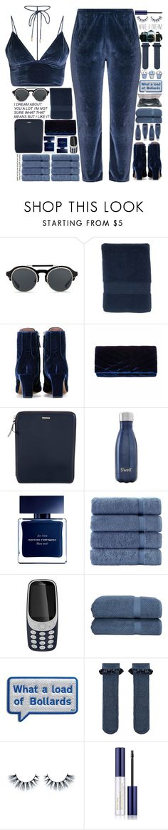 """""""5659"""" by tiffanyelinor ❤ liked on Polyvore featuring KRISVANASSCHE, Modern.Southern.Home., Tabitha Simmons, Gunne Sax By Jessica McClintock, Michael Kors, S'well, Narciso Rodriguez, Makroteks, Nokia and Linum Home Textiles"""