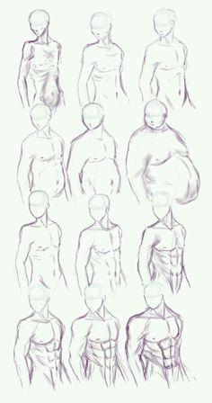 Make body types side view