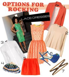 What To Wear With A Lace Dress