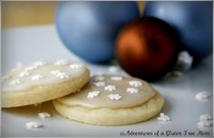 Gluten-Free Dairy-Free Egg-Free Corn free Sugar Cookies