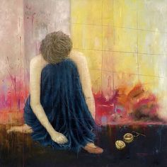 Contemplation and colorful vivaciousness: paintings by Erica Hopper - ego-alterego.com#more-11482#more-11482