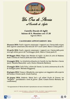 """Castello Ducale di Aglié- """"Un'Ora di Storia"""""""