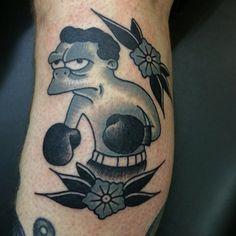 Matt Evans as featured on Swallows & Daggers. www.swallowsndaggers.com #tattoo #tattoos #kidmoe