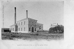 «Olivet, la prise d'eau municipale d'Orléans, vers 1900».