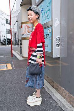 Smile & Platforms in Harajuku | Flickr - Photo Sharing!