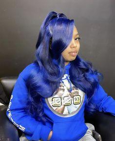 Baddie Hairstyles, Black Girls Hairstyles, Weave Hairstyles, Sew In Wig, Curly Hair Styles, Natural Hair Styles, Colored Wigs, Birthday Hair, Hair Laid