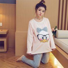 38.90$  Watch now - https://alitems.com/g/1e8d114494b01f4c715516525dc3e8/?i=5&ulp=https%3A%2F%2Fwww.aliexpress.com%2Fitem%2FKorean-Maternity-Clothes-Pregnancy-Autumn-Cotton-Pregnant-Long-Sleeve-Pajamas-Soft-Cute-Casual-Pregnant-Clothes%2F32763161589.html -  Korean Maternity Clothes Pregnancy Autumn Cotton Pregnant Long Sleeve Pajamas Soft Cute Casual Pregnant Clothes Summer 70M0193