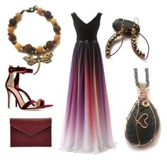 """Perfect combination"" by monika-przymuszala ❤ liked on Polyvore featuring Shamballa Jewels, Rebecca Minkoff and Gianvito Rossi"