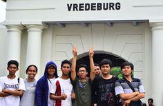 jalan-jalan di benteng vredeburg peninggalan belanda, Yogyakarta