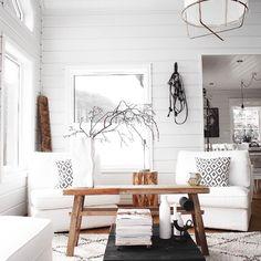 Lyse toner med et strejf af rustikke og naturlige items