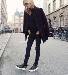 Cashmere Rollerneck from REISS, Jeans from Envii by Pernille Teisbaek, Shoes from Céline http://FashionCognoscente.blogspot.com