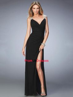 Shop for La Femme prom dresses at PromGirl. Elegant long designer gowns, sexy cocktail dresses, short semi-formal dresses, and party dresses. Senior Prom Dresses, Prom Dresses 2016, Simple Dresses, Elegant Dresses, Formal Dresses, Beautiful Evening Gowns, Beautiful Dresses, Gown With Slit, Dresser