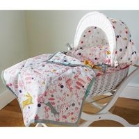 Baby Joule Madhatter Moses Basket, Pink £85.00 http://www.cruxbaby.co.uk/shop/moses-baskets-cribs-portable-beds/baby-joule-madhatter-moses-basket-pink/  #nursery