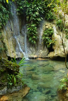 Hot Springs, Lake Izabal, Guatemala